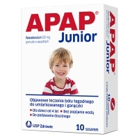 Apap Junior 250mg x10 saszetek