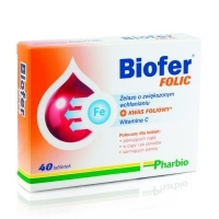 Biofer Folic x40 tabletek