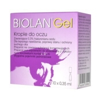 Biolan Gel żel do oczu x10 minimsów