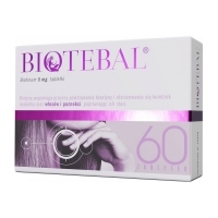 Biotebal 5mg x60 tabletek