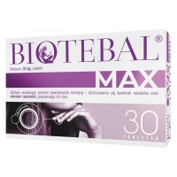 Biotebal MAX 10mg x30 tabletek