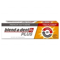 Blend-a-dent PLUS Super MOCNY klej do protez DUO Kraft 40g