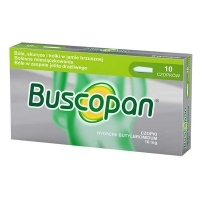 Buscopan 10mg x10 czopków