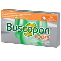 Buscopan Forte 20mg x10 tabletek