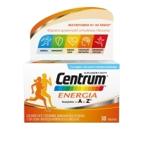 Centrum Energia kompletne od A do Z x30 tabletek