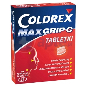 Coldrex Maxgrip C x24 tabletki