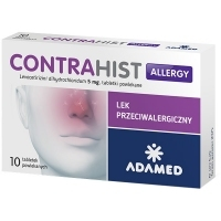 Contrahist Allergy 5mg x10 tabletek