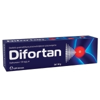 Difortan 100mg/g żel 50g