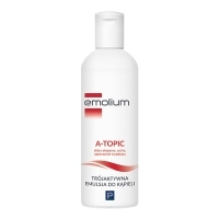 Emolium A-TOPIC trójaktywna emulsja do kąpieli 400ml