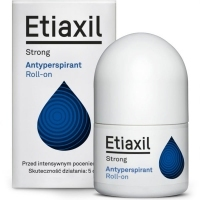 "Etiaxil Strong antyperspirant roll-on 15ml <span style=""color: #b40000"">+ Etiaxil Comfort 5ml GRATIS</span>"