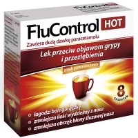 Flucontrol Hot x8 saszetek
