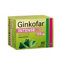 Ginkofar Intense 120mg x60 tabletek