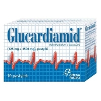 Glucardiamid x10 tabletek do ssania
