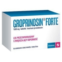 Groprinosin Forte 1000mg x30 tabletek