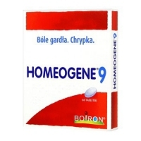 Homeogene 9 x60 tabletek do ssania