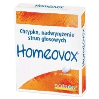 Homeovox x60 tabletek do ssania