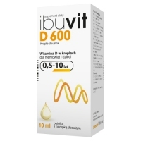 Ibuvit D 600 j.m. krople doustne 10ml