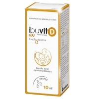 Ibuvit D 600 krople doustne 10ml