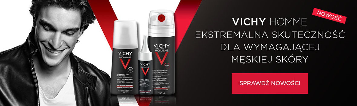 vichy homme nowosci