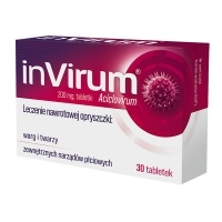 InVirum 200mg x30 tabletek