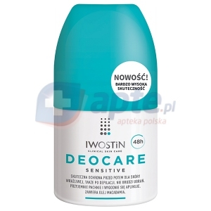 Iwostin Deocare Sensitive antyperspirant roll-on do skóry wrażliwej 50ml