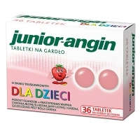 Junior-angin x36 tabletek do ssania