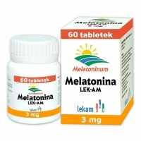 Melatonina 3mg x60 tabletek