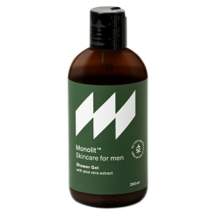 Monolit Skincare for men żel pod prysznic z aloesem 250ml