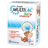 Multilac Baby Synbiotyk krople 5ml