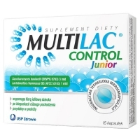 Multilac Control Junior x15 kapsułek