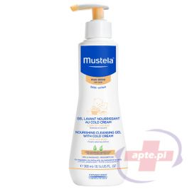 Mustela Bebe-Enfant odżywczy żel do mycia z Cold Cream 300ml (d.w.)