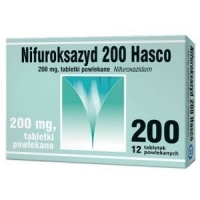 Nifuroksazyd 200mg Hasco x12 tabletek