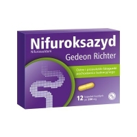 Nifuroksazyd Richter 200mg x12 tabletek