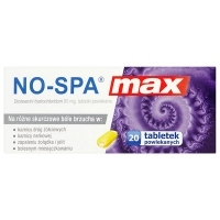 No-Spa Max 80mg x20 tabletek