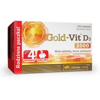 Olimp Gold-Vit D3 2000 x120 tabletek