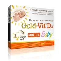 "Olimp Gold-Vit D3 Baby x30 kapsułek ""twist off"""