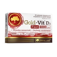 Olimp Gold-Vit D3 Fast 4000 j.m x30 tabletek do ssania