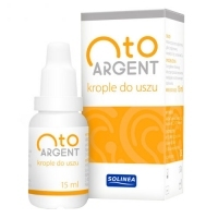 Otoargent krople do uszu 15ml