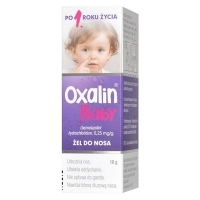Oxalin Baby 0,25 mg/g żel do nosa 10g