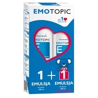 Pharmaceris E EMOTOPIC emulsja do kąpieli 400ml + 200ml w PREZENCIE
