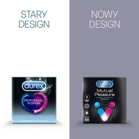 Prezerwatywy DUREX Performax Intense (Mutual Pleasure) x3 sztuki