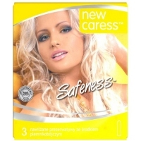 Prezerwatywy New Caress Safeness x3 sztuki