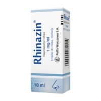 Rhinazin 0,1% krople do nosa 10ml