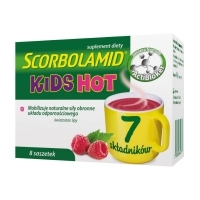 Scorbolamid KIDS Hot x8 saszetek