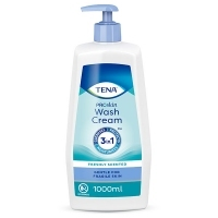 TENA Wash Cream krem myjący 3w1 1000ml