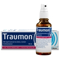 Traumon 100 mg/g aerozol na skórę 50ml