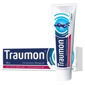 Traumon 100 mg/g żel 100g