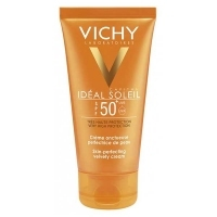 VICHY Ideal Soleil SPF50+ aksamitny krem do twarzy 50ml