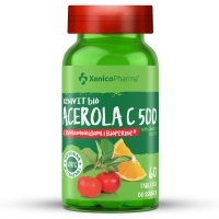 XeniVIT bio Acerola C 500 x60 tabletek do ssania