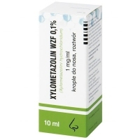 Xylometazolin WZF 0,1% krople do nosa 10ml